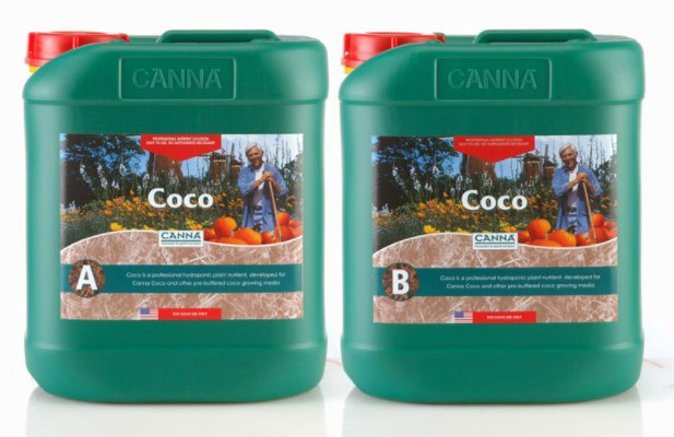 Canna Coco A+B and Cal-Mag